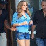 Mariah Carey Desfila no Rio de Shortinho