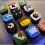 Bolos e Biscoitos em Formato de Ipad e Iphone