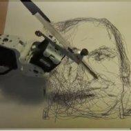 Robô que Faz Desenhos Incríveis