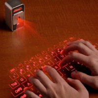 Magic Cube: Teclado a Laser para Tablets