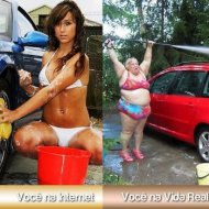 Internet vs. Vida Real