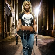 Cosplays da Lady Punisher