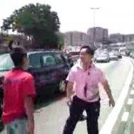 Brigando no Trânsito