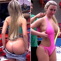 Fernanda do BBB 13 Mostrando Mais do que Devia