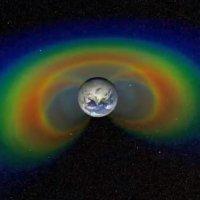 Resultado de imagem para Radiação em torno da Terra