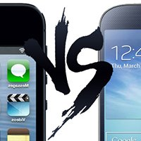 Comparativo: Galaxy S4 e Iphone 5