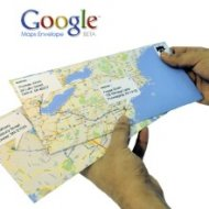 Envelopes do Google Maps