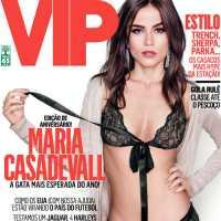 A Atriz Maria Casadevall na Capa da Revista Vip