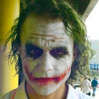 Heath Ledger Por Trás das Cenas de Batmam