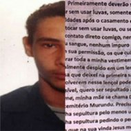 Trechos da Carta do Assassino no Rio